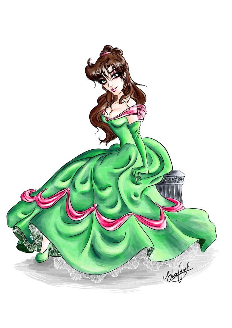 Sailor Princess - Jupiter - Revisited by Ebsie