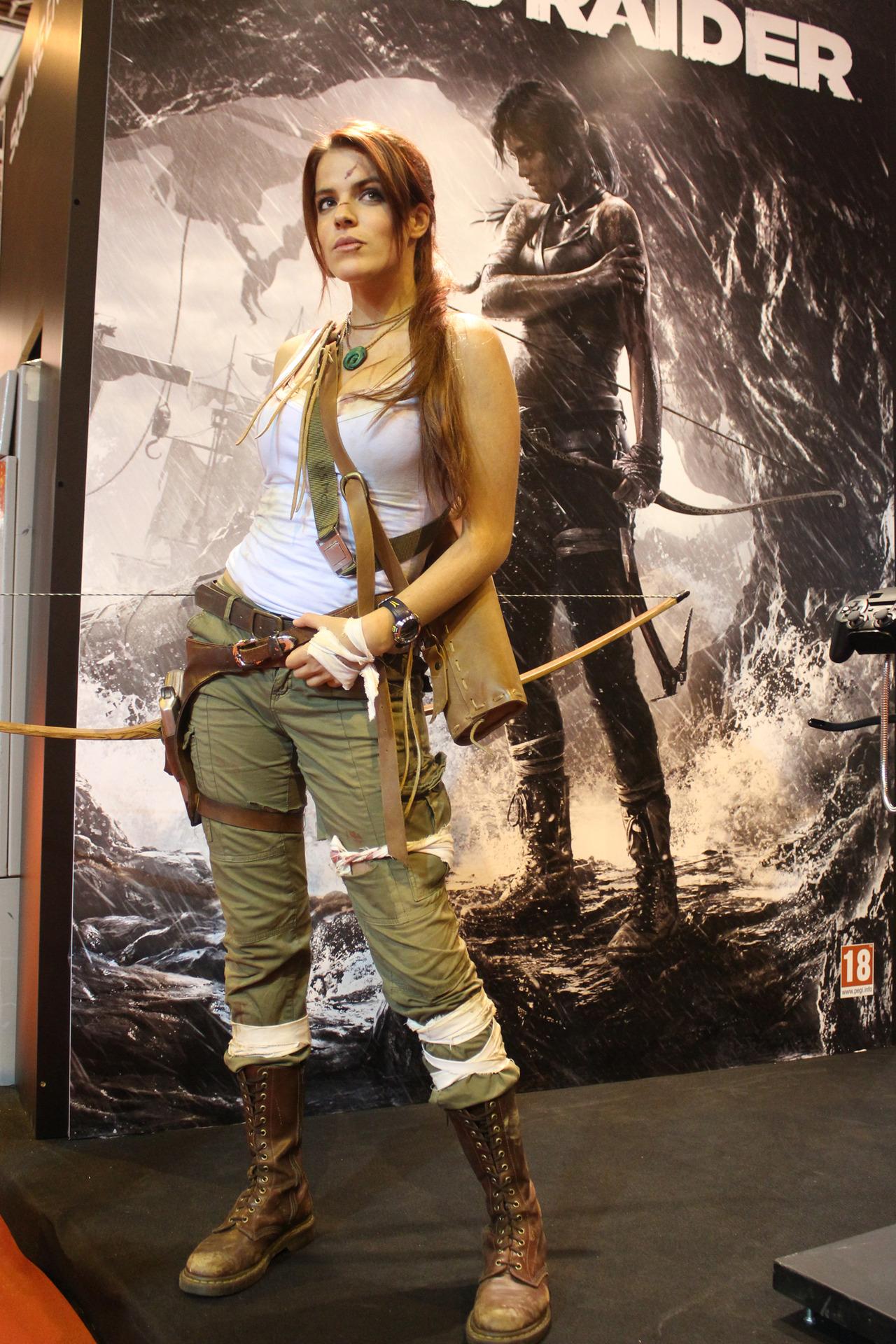 Tomb Raider - Cradle of Life Lifesize Angelina Jolie Lara