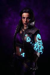 Amara the Siren from Borderlands 3