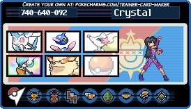 Crystal's Trainer Card!! by hurricanestormer