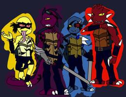 RotTMNT : Dark Turtles by NightFlyer2468