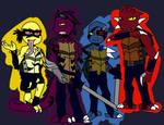 RotTMNT : Dark Turtles