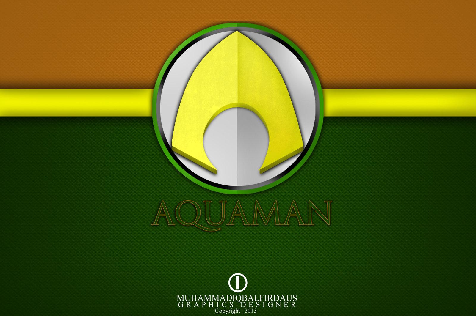 Aquaman Logo Aquaman Wallpaper by Aquaman