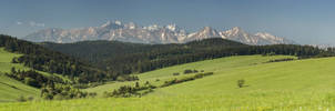 High Tatras Slovakia Pano