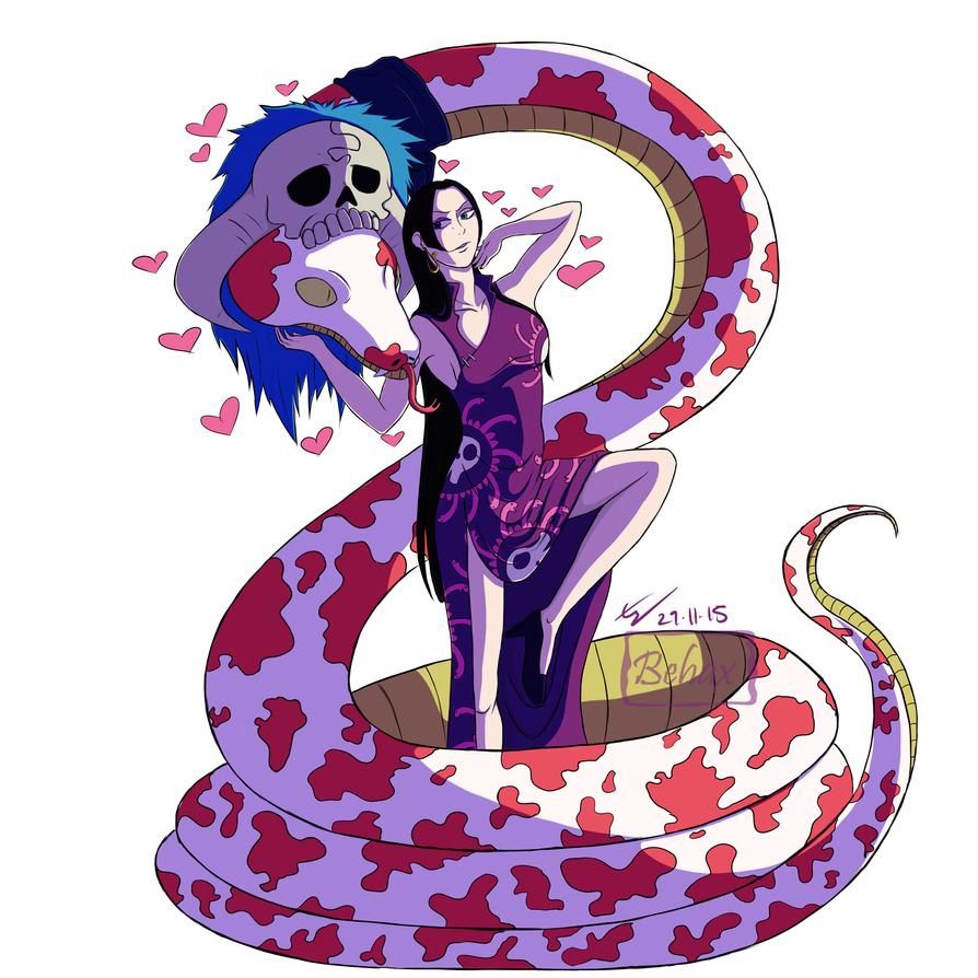 Pirate Empress Boa Hancock by Behaxel