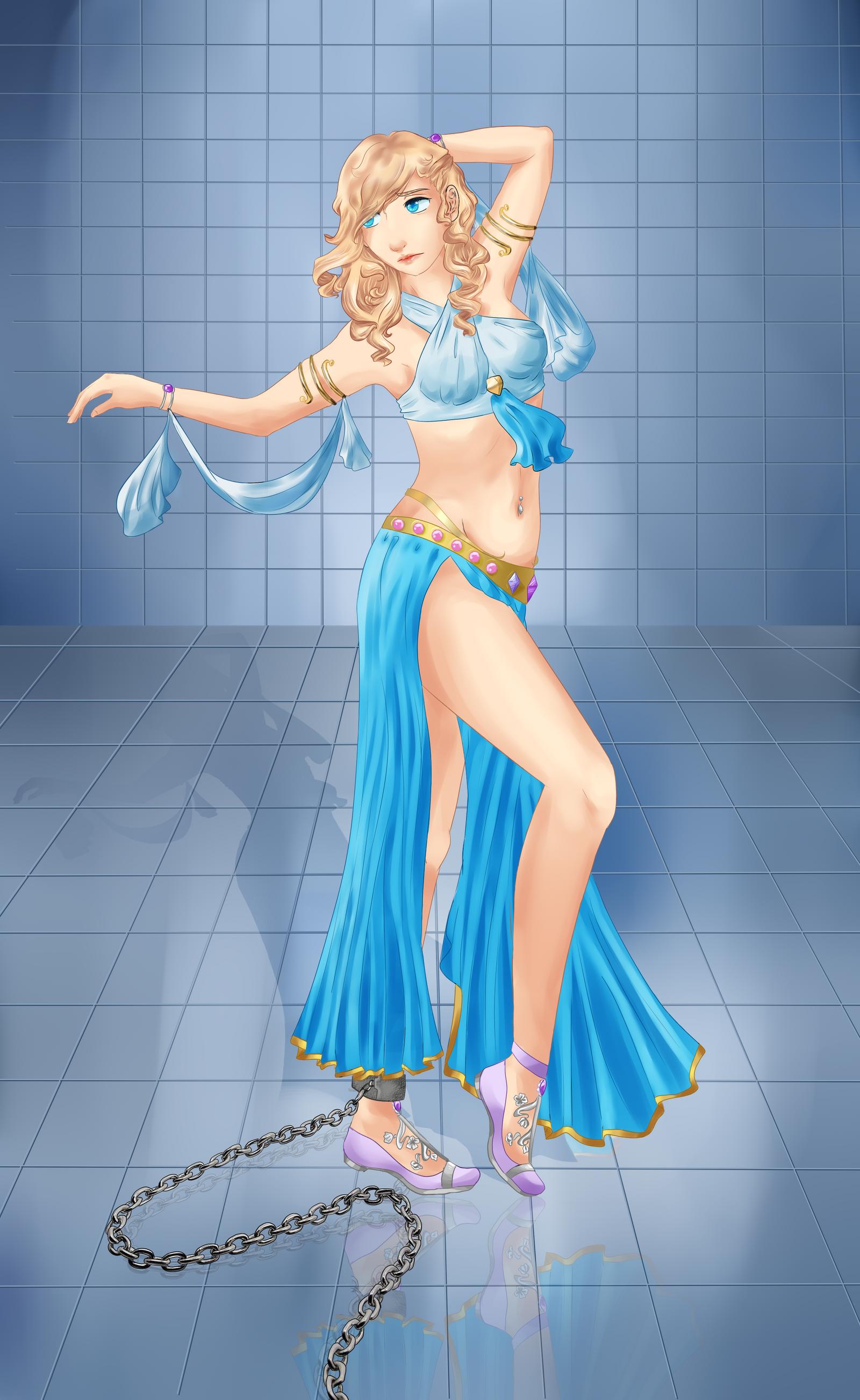 Babe nice anime bikini dancers add