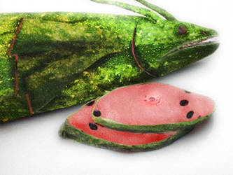 Watermelon Fish, for those with an acquired taste. by Generic-Nickname-001