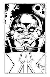 Intergalactic Olmec by chriscanianoart