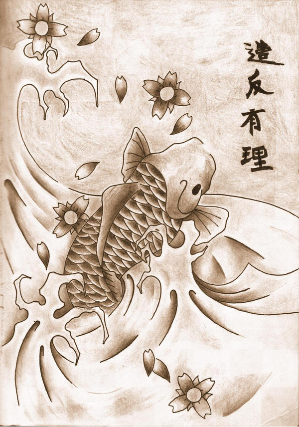 Japanese Koi Fish Tattoo Designs Gallery 12