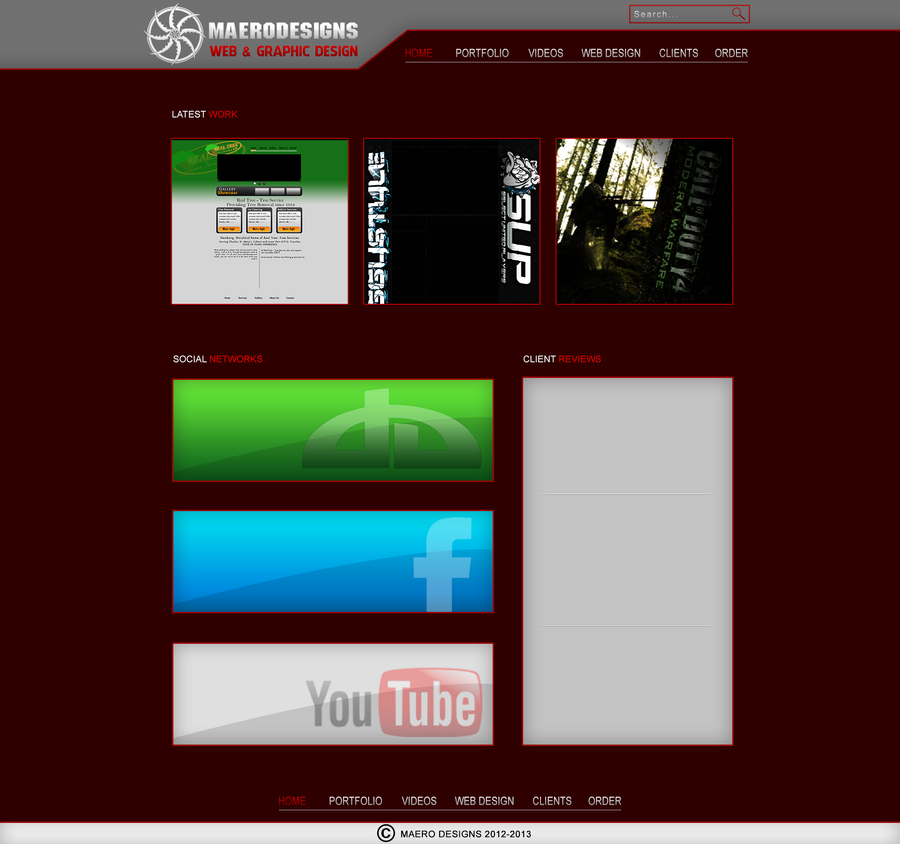 Personal ITW Webdesign by MaeroDesigns
