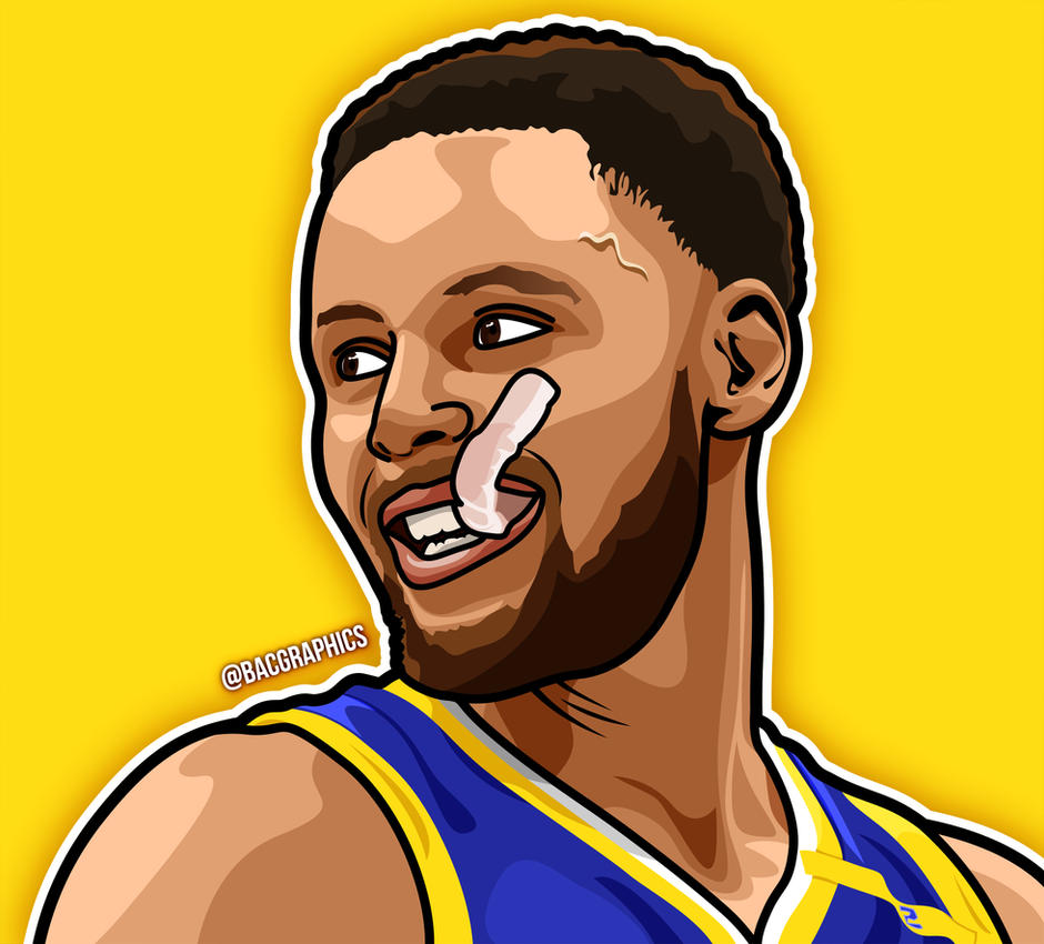 steph curry cartoon illustration by bacgraphics on deviantart baseball player clipart images free baseball player clipart images