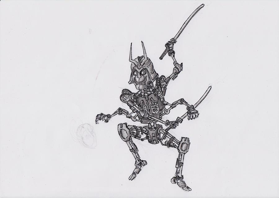 samurai droid? by TomHeye