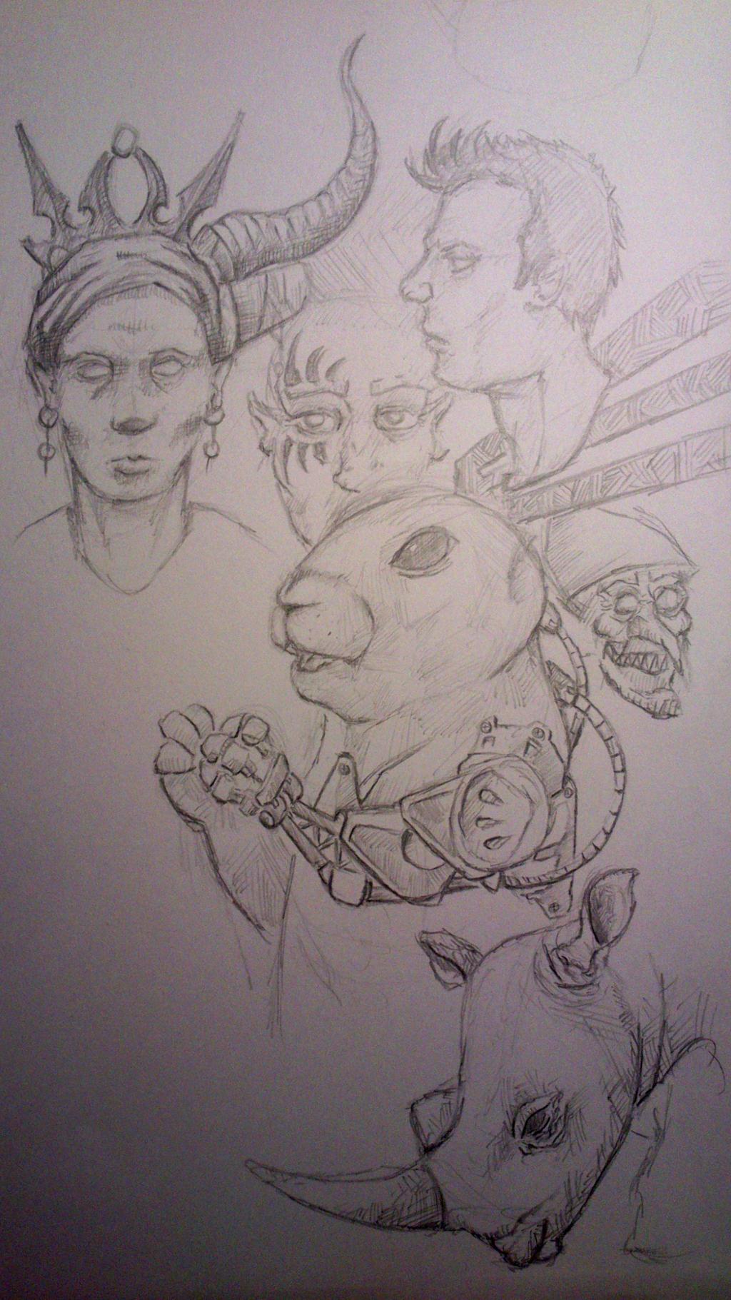 dailey sketchdump by TomHeye
