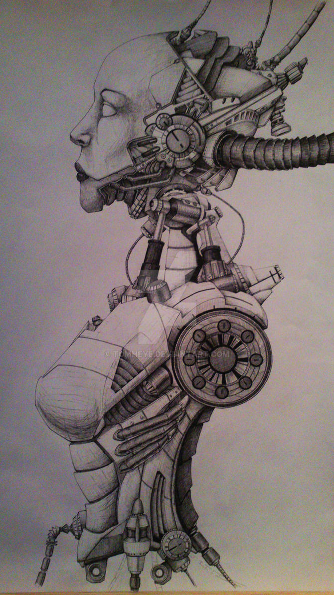 cyborg by TomHeye