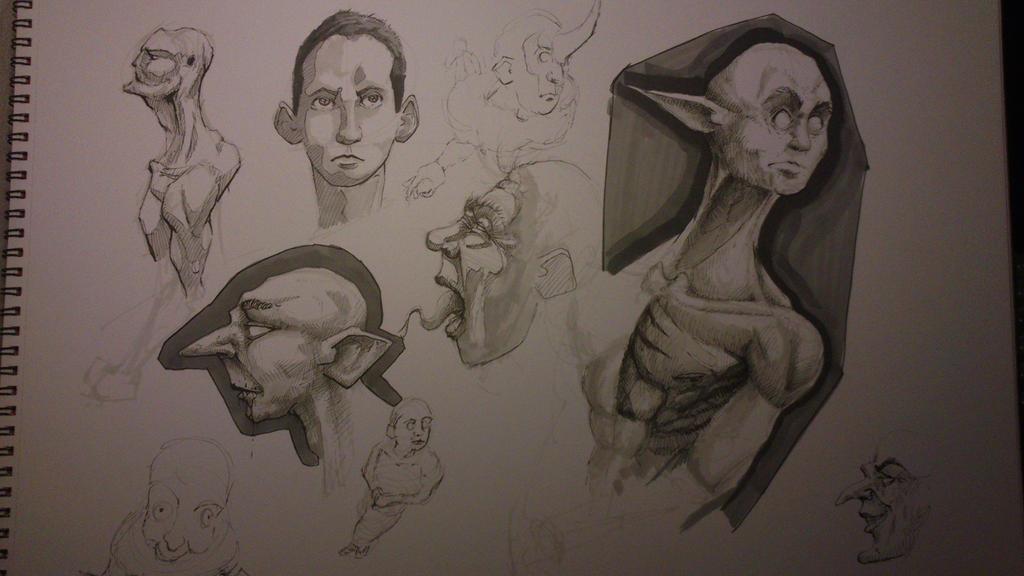doodles by TomHeye