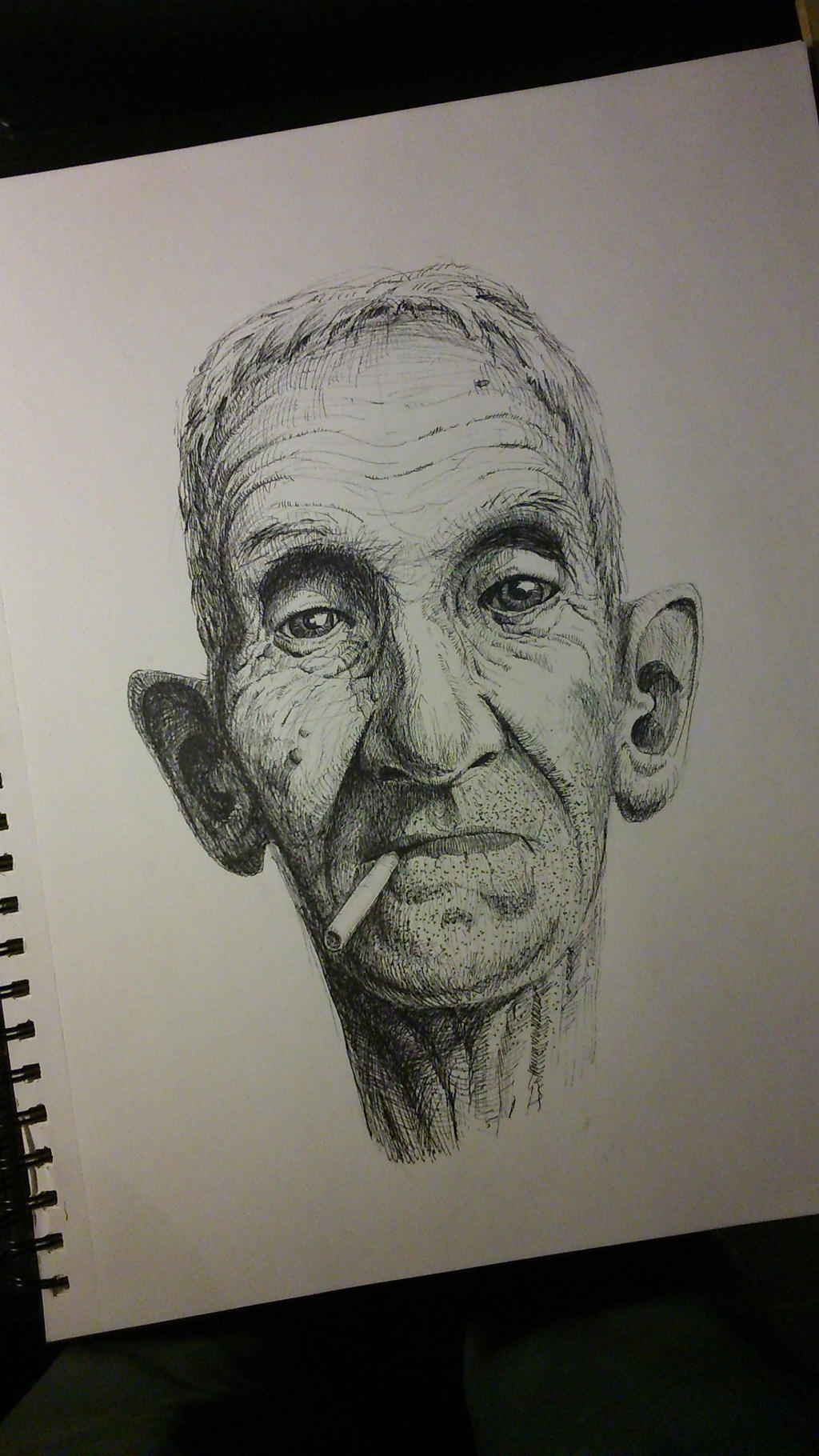 old geezer by TomHeye