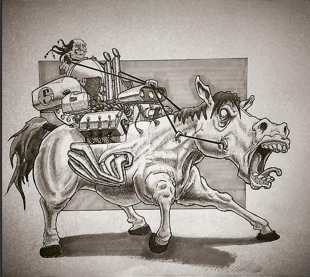 i got horsepower mothaf* by TomHeye