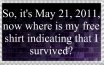May 21, 2011 Doomsday by Basil4Life