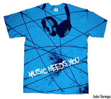 Music Needs You by andrepa