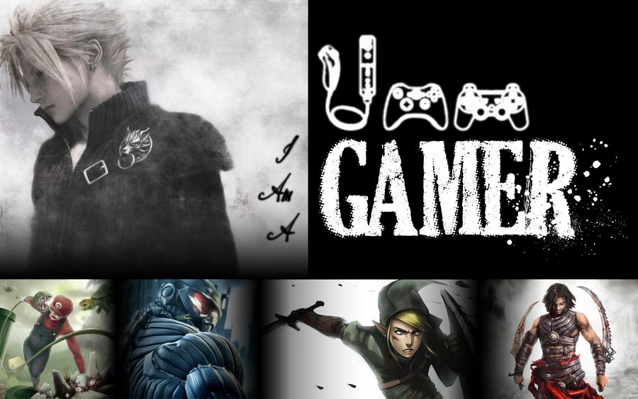 i am a gamer by raydee331319 on deviantart