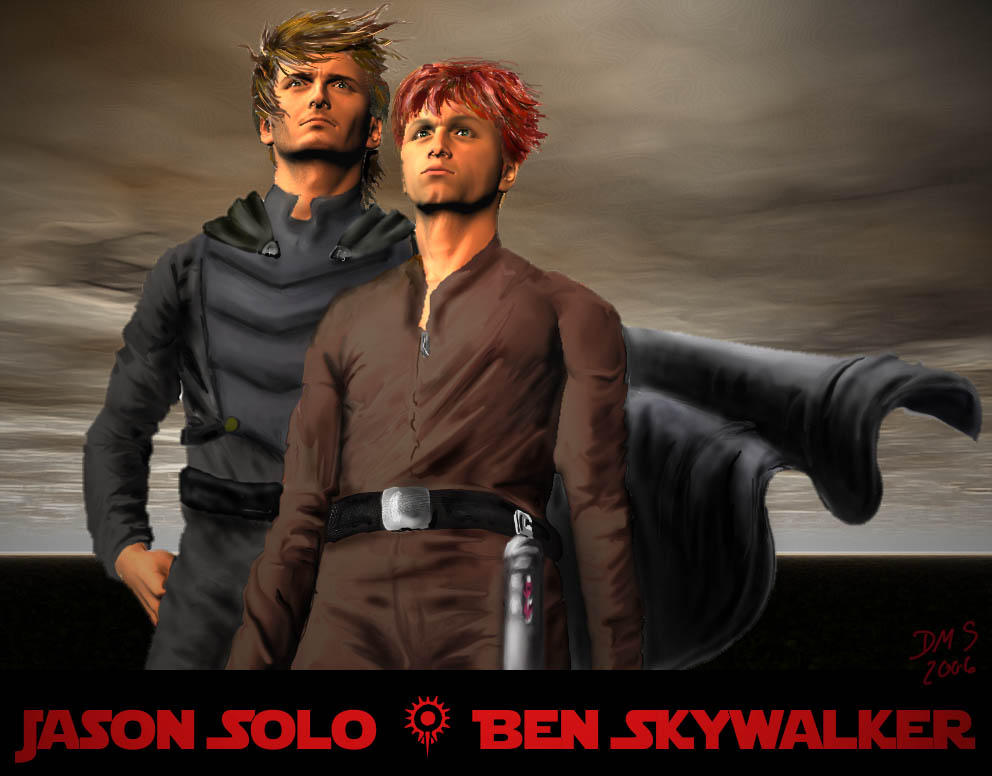 Ben skywalker jacen solo and ben skywalker