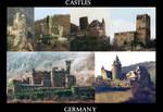 Castles on the Rhein River