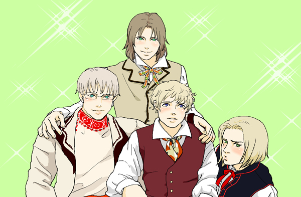 Baltic and Poland dressed by Inko-Dokotei