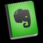 Evernote Icon for Mac OS X Yosemite
