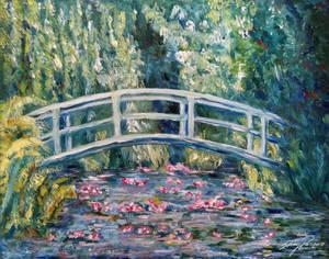 Interpretation of Monet's Water Lillies