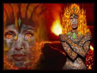 Goddess of Fire by len
