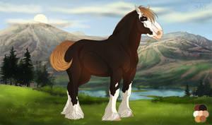 diRPG | Arthur | Lead Stallion by AhZeeNay