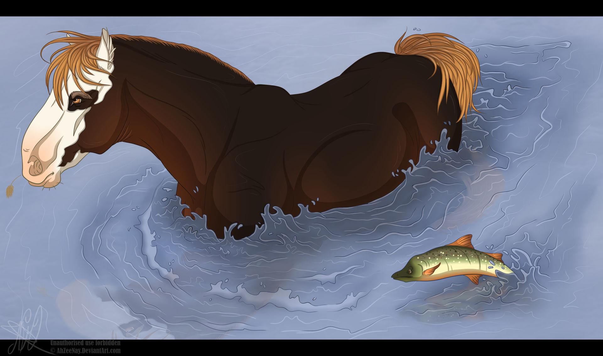 [MQ] DiRPG | Arthur | Something Fishy by AhZeeNay