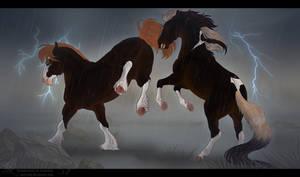 diRPG | Rainy Bois | Sparring by AhZeeNay