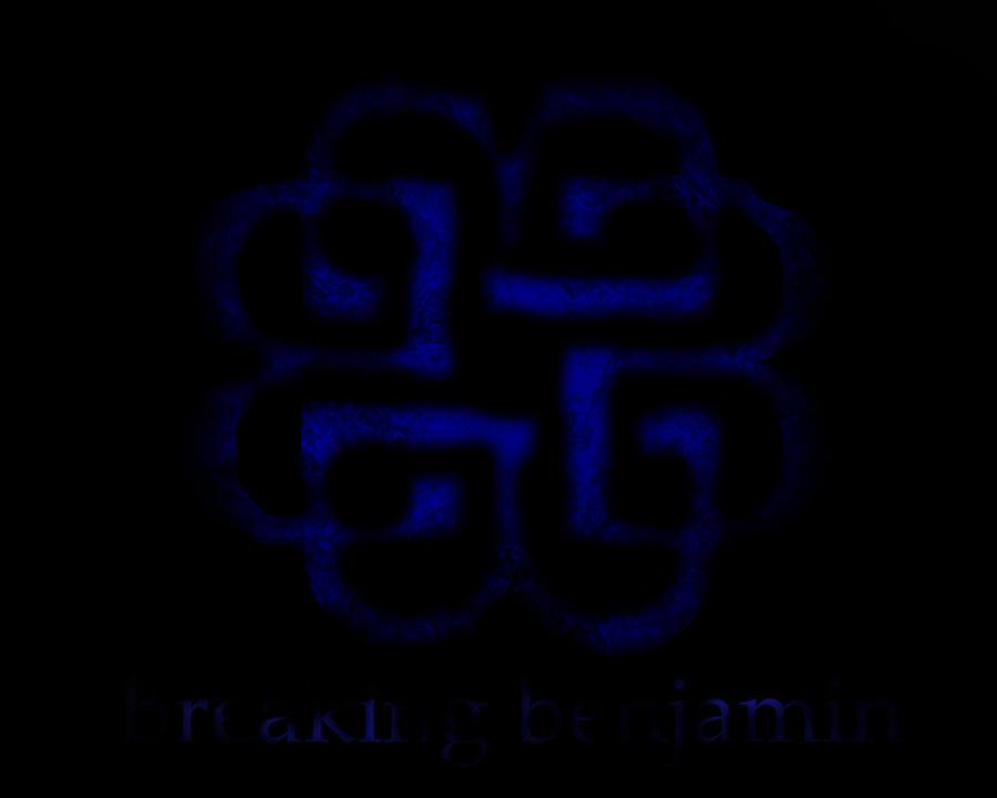 Breaking benjamin logo red