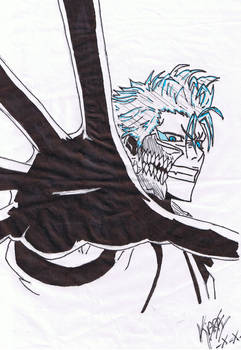grimmjow with some colour