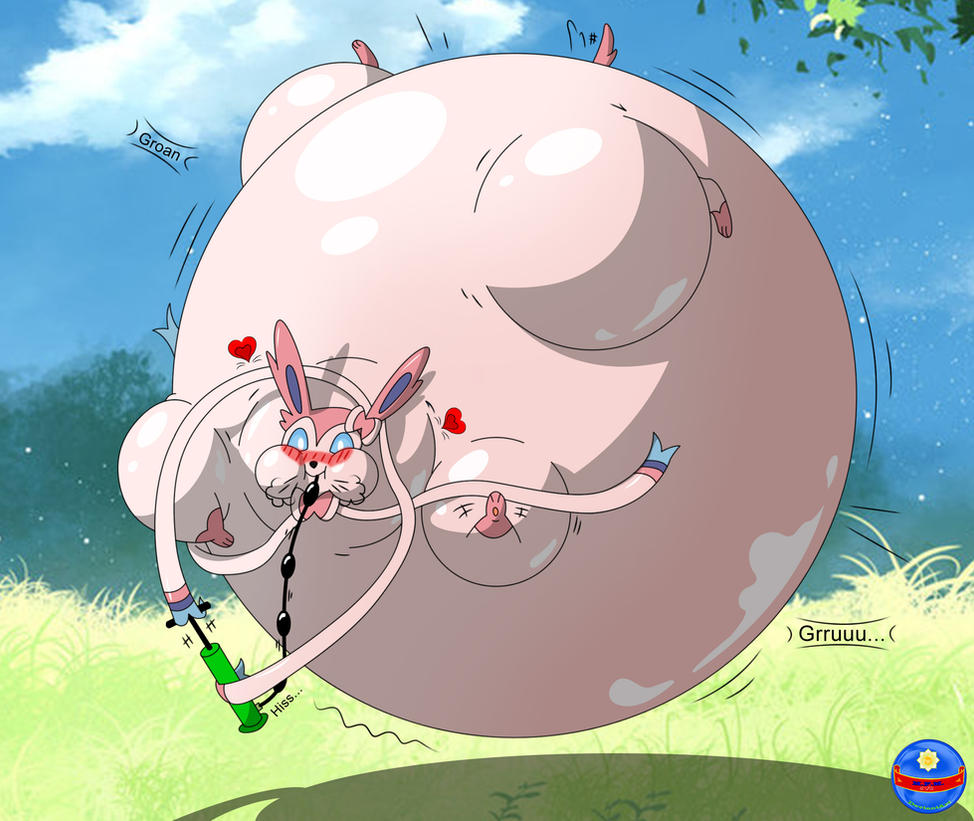 Inflated Sylveon By Inflatedtoon On DeviantArt