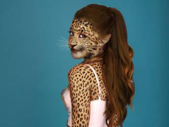Ariana Grande - Leopard by OdysseusUT