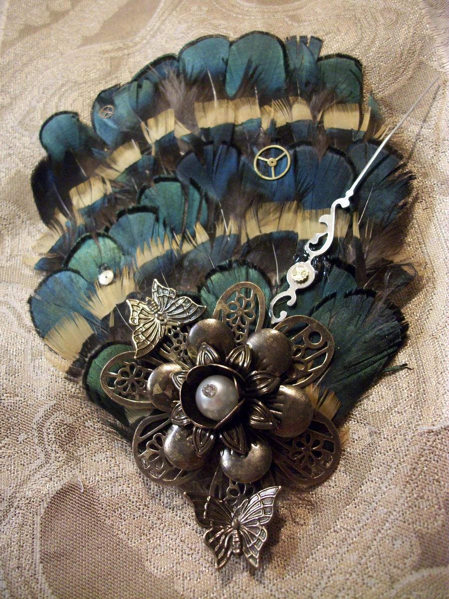 Clockwork Wings Fascinator by TheWildMi