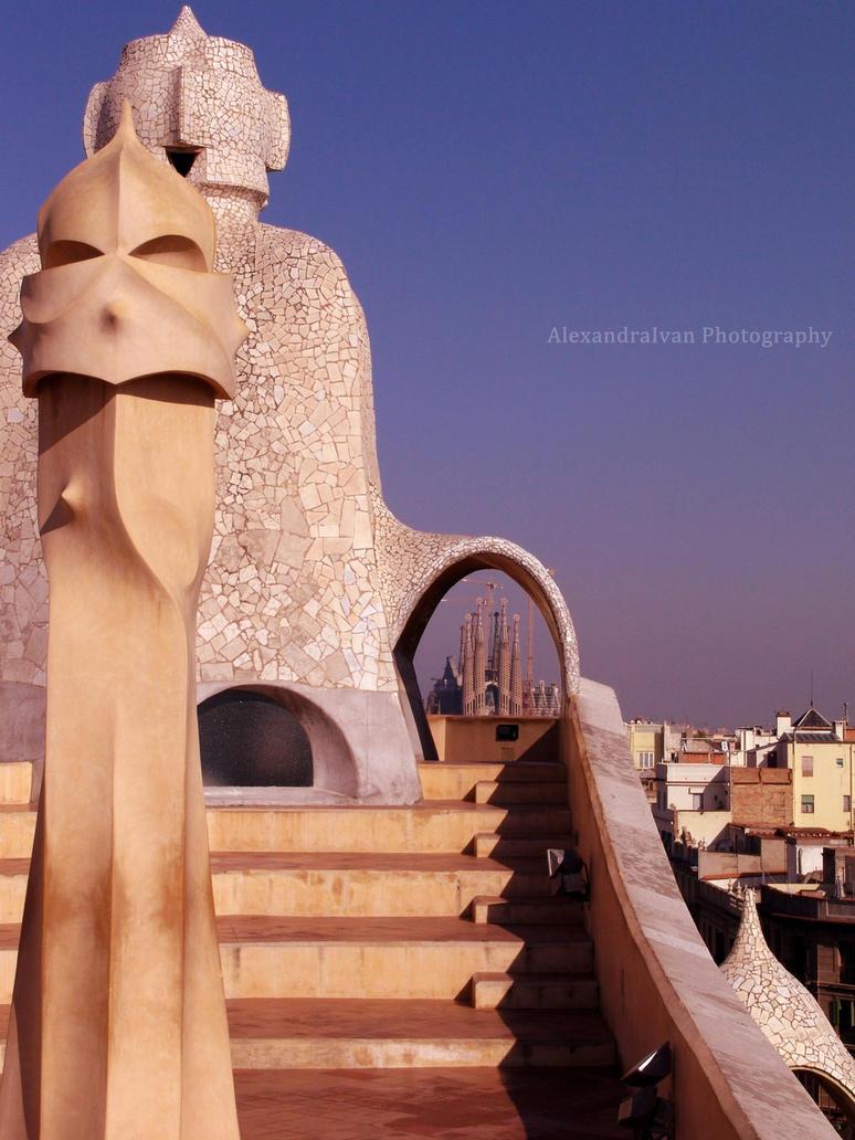 Antoni Gaudi. by AlexandraIvan