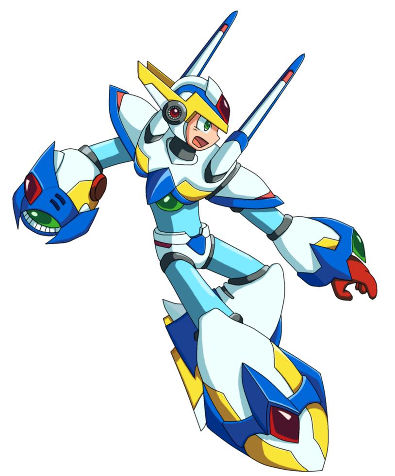 Rockman X: Falcon Armor V2 by Zhen-Chan
