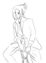 Modelo: Sasuke SKETCH by visualscope
