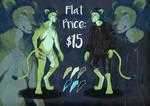 Flat Price [Open] Lion Adopt #2 by tachann