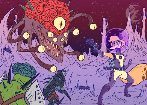 Brain Monster Battle