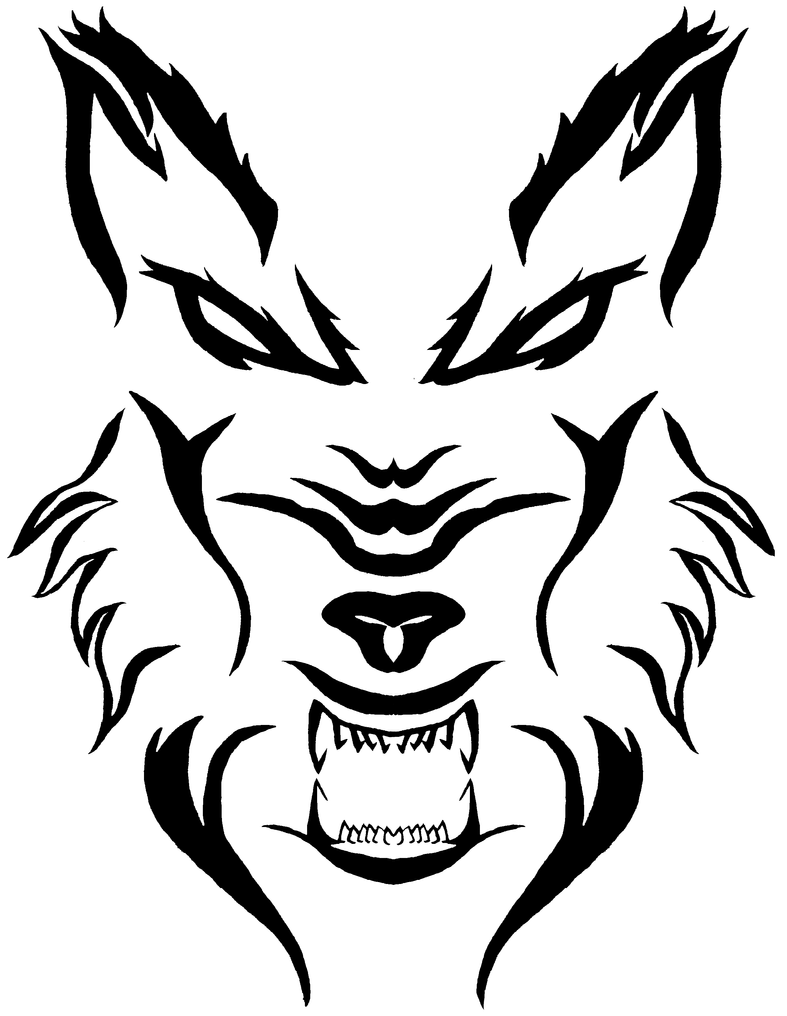 wolf tattoo by light linx on deviantart. Black Bedroom Furniture Sets. Home Design Ideas