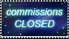 Commission closed stamp by vlower