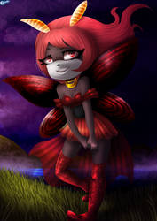 Radela The night butterfly by vlower