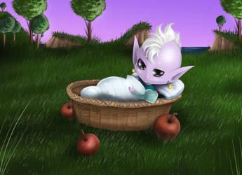 Baby Kaioshin by vlower