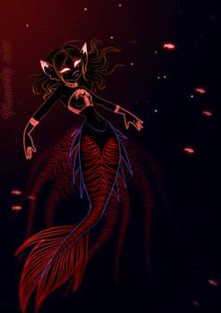 Rasa the deep sea mermaid