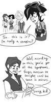 Vamparian Comic