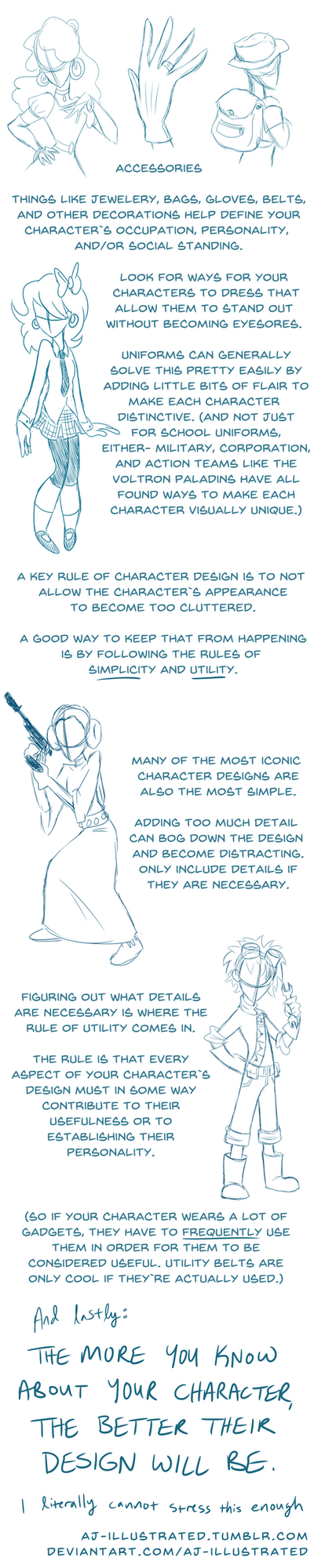 Tutorial - Designing Character Clothing 2 by AJ-illustrated